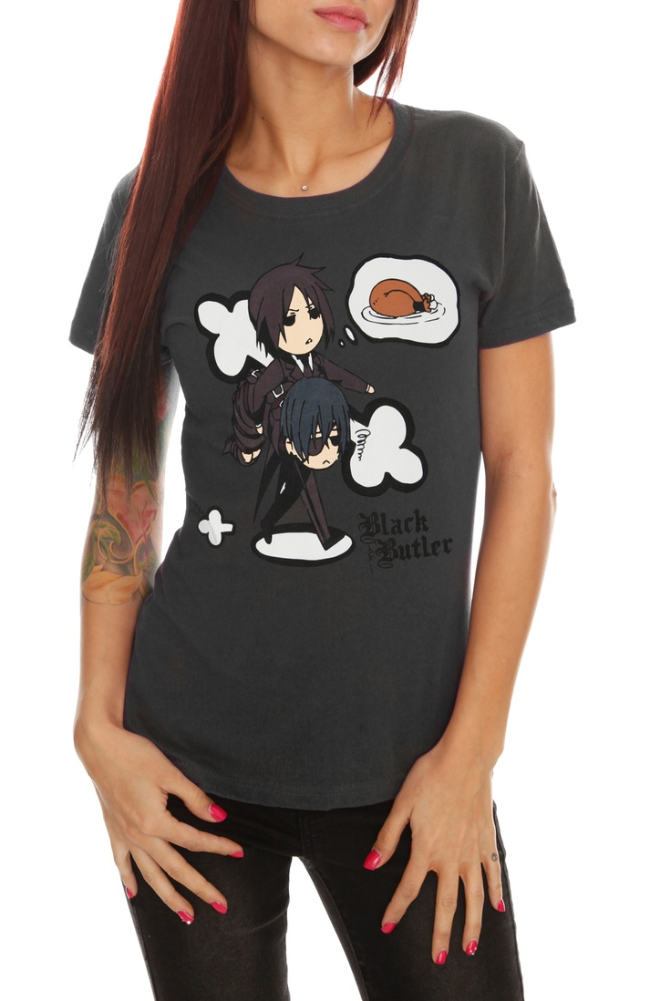 Black Butler Turkey Girls T Shirt Hot Topic Hot Topic