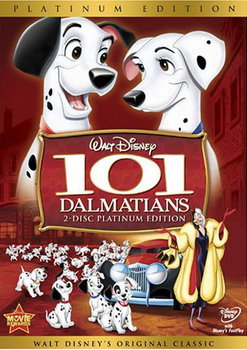 101 Dalmatians Two Disc Platinum Edition DVD