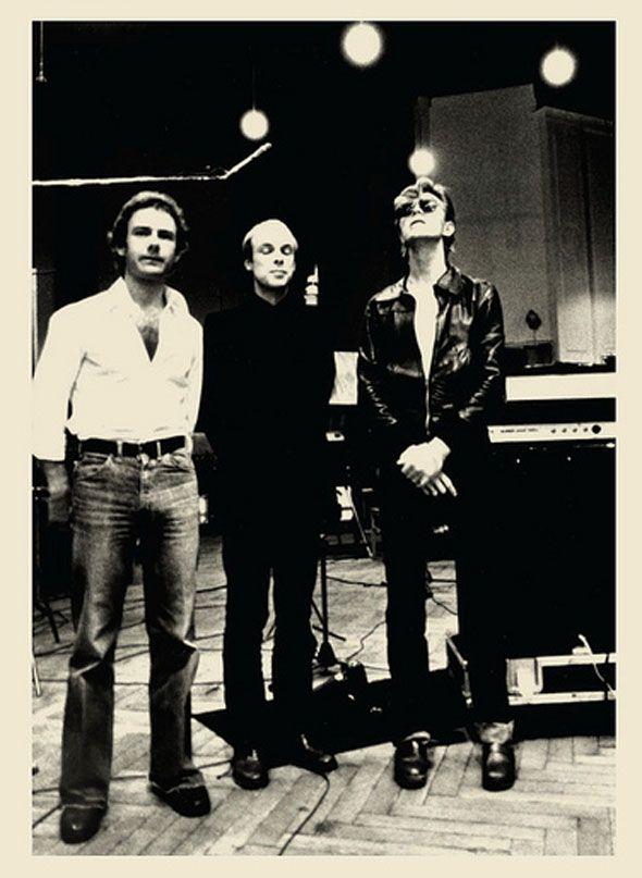 David Bowie, Brian Eno and Robert Fripp