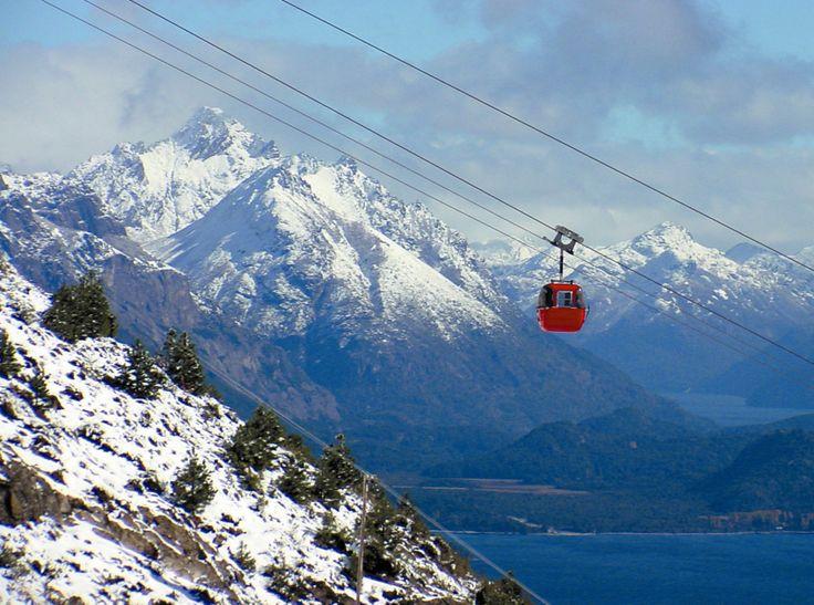 """Bariloche . ascenso al cerro Otto en las """"manzanitas"""""""