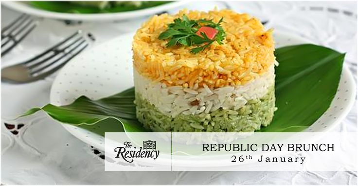 Celebrate the completion of 66 glorious years as a republic with the #RepublicDay brunch at #TheResidency.