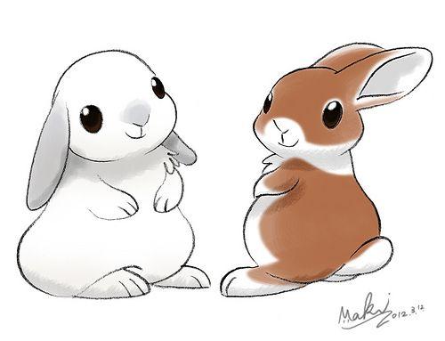 Pin By Moxie Starship On Goldfish Rabbit Cartoon Drawing Cute