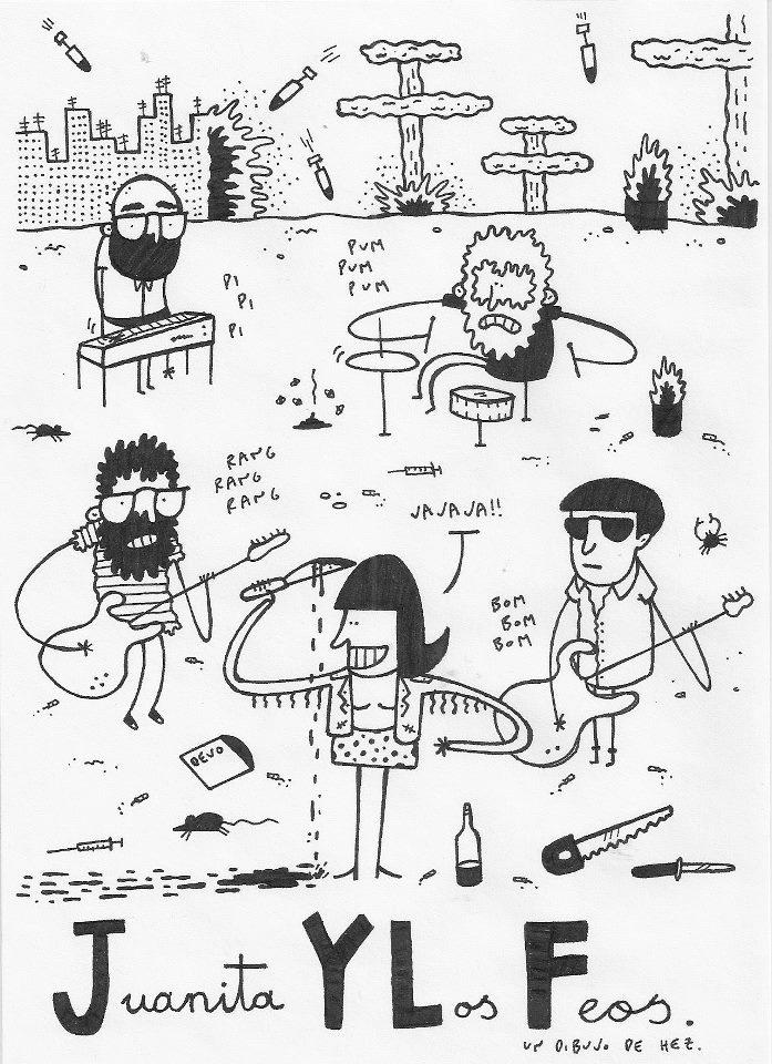 Juanita y los Feos por Amigo Blas