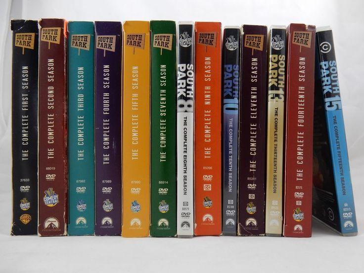 South Park Complete Seasons 1-5  7-11 13-15 DVD Box Sets