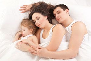 Has co-sleeping ever really looked like this?