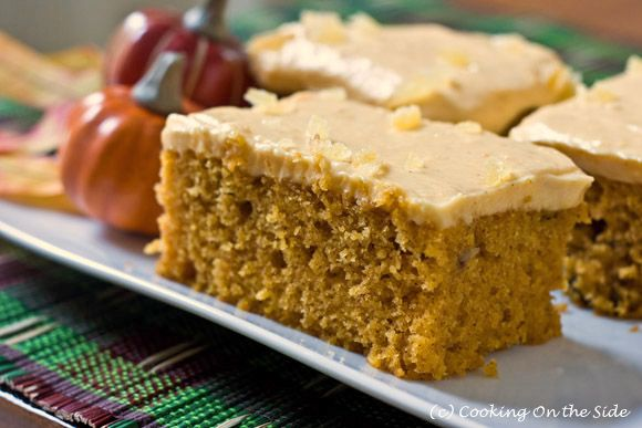 Pumpkin Spice Cake with Pumpkin Cream Cheese Frosting...get the recipe at www.cookingontheside.comPumpkin Spices, Cake Mixed, Halloween Pumpkin, Pumpkin Cake, Pumpkin Cream Cheese, Spices Cake, Food Recipe, Cream Cheeses, Cream Cheese Frosting