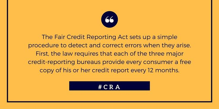 Check out this article explaining the Fair Credit Reporting Act by CBS News... For more information on how to get credit repair 100% LEGALLY, visit: http://www.creditrepairbyattorney.net/