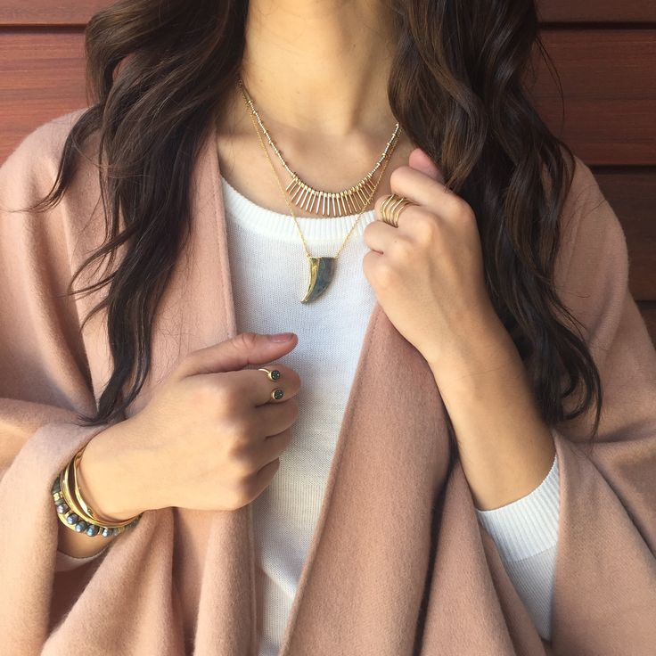 The perfect fall outfit, topped of with Stella & Dot jewelry!