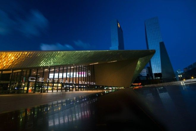 Rotterdam Central Station, Netherlands | 1,000,000 Places