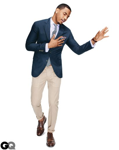 Navy blazers have been hugging the shoulders of dapper gentlemen for nearly two centuries. More recently, they've been adopted by businessmen and rappers alike. They're that versatile. But do you know what your blazer says about you? Turns out the message is in the buttons. Choose the ones that suit your temperament.