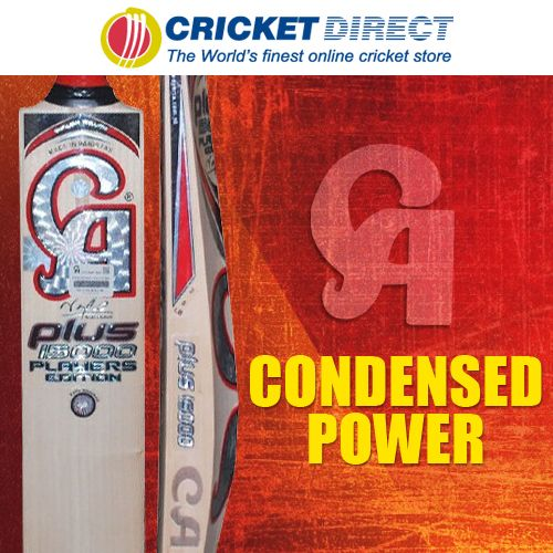 CA 15000 Player Edition Cricket Bat: Expertly prepared from the finest English Willow with an awesome power zone.  Great value for a top-level bat.