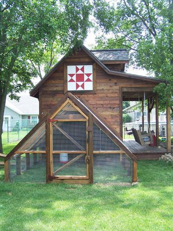 Mini-barn Chicken Coop- This is it!!! The one I want to build