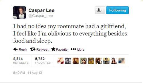 Caspar was oblivious to zalfie dawwwww they're all so cute ♥♥
