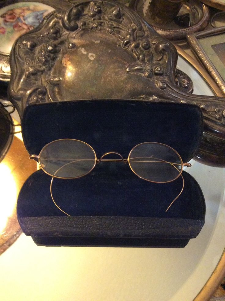 Gold wire glasses, wire rimmed glasses, antique glasses, granny glasses, vintage glasses by HippieCowgirlVintage on Etsy