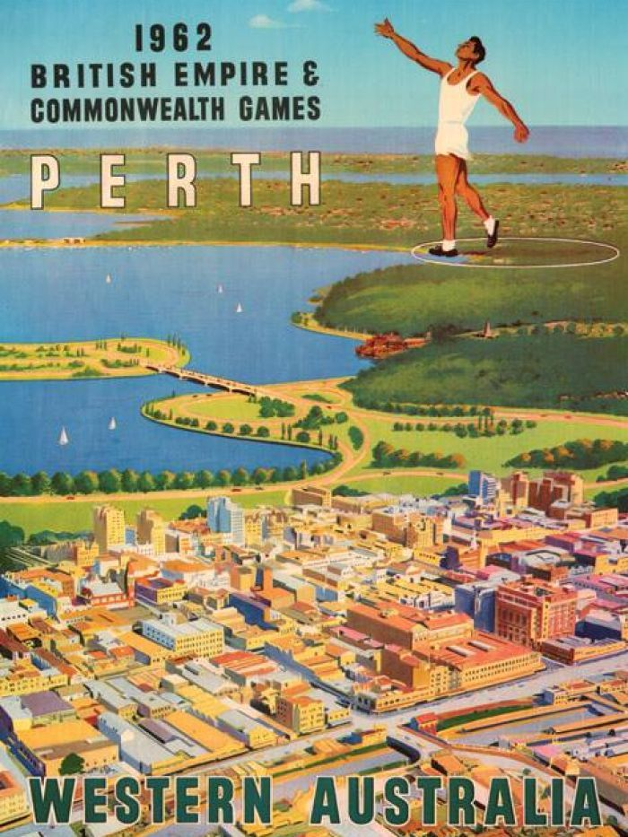 Nothing like that now! ---> The Commonwealth Games, held in Perth, Western Australia, 1962