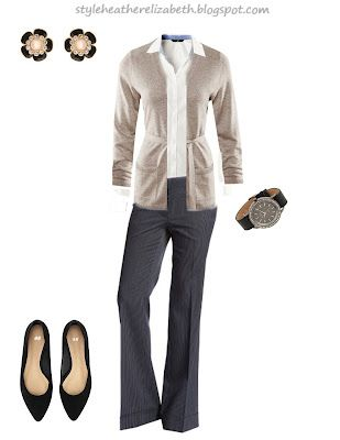 STYLE. (by: heather): Career Outfit #1 (from Career Wardrobe Chart)