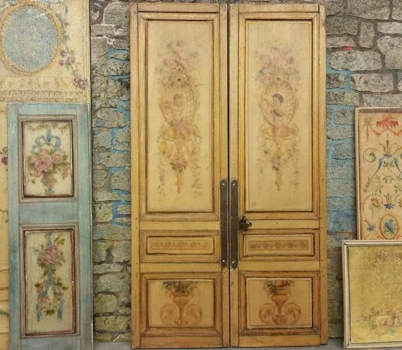 Louis the 16th  Pair of Doors  12th Scale by JennyLTDesigns