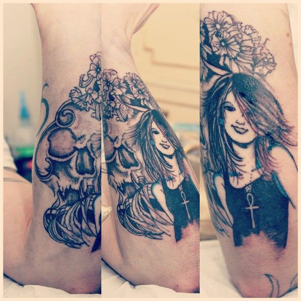 Sandman tattoo Death