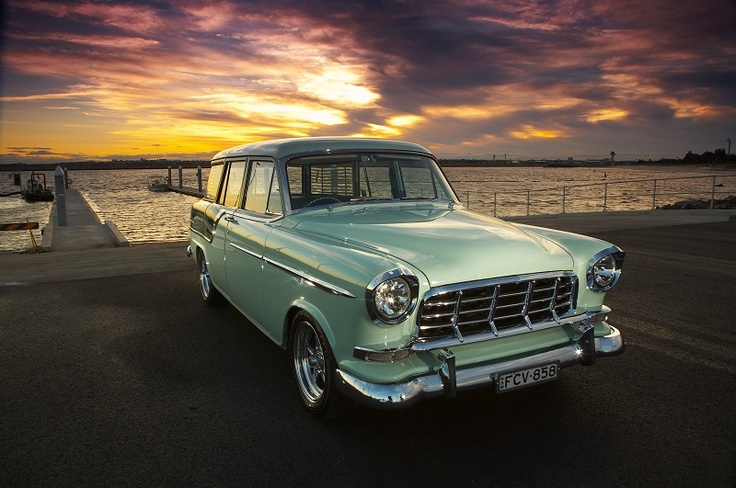 1958 Holden FC Special Station Wagon.