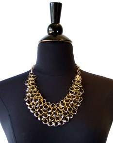 threads black maggie necklace $19.95 | threads and style