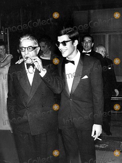 Aristotle Onassis and Son Alexander Onassis