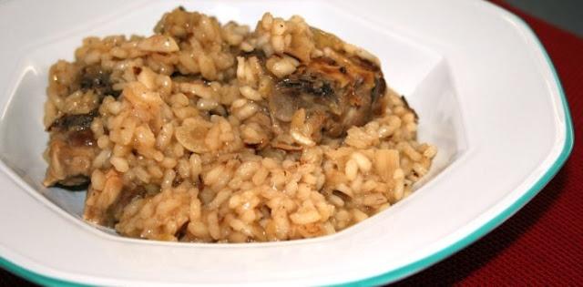 Cuello con arroz