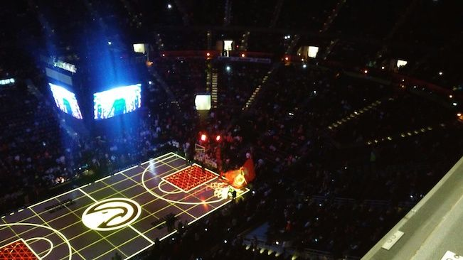 A 4th Qtr Hawks Victory upset the     New Orleans Pelicans Contributing Blogger - Andre J. Thomas ...