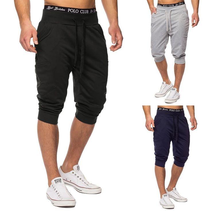 Pantaloncini da corsa Pantaloni Sport Pantaloni Danza Uomo fitness Pantaloncini