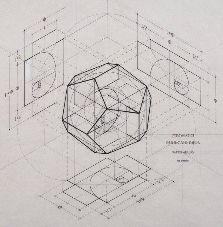 How the golden ratio lies embedded in the platonic solids for Golden ratio artwork