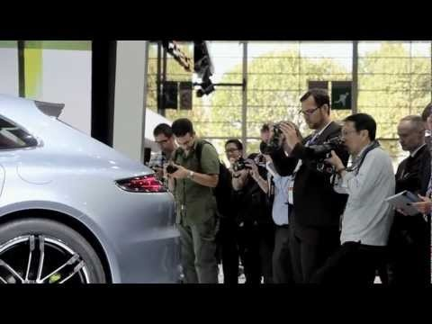 Porsche at the Paris Motorshow - Sport Turismo Secrets