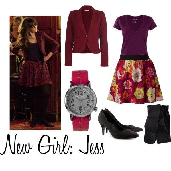 new girl: jess.