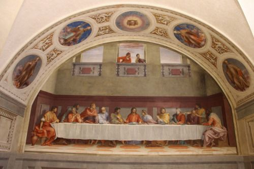 "koredzas:  ""Andrea del Sarto - The Last Supper. 1520 - 1525  """