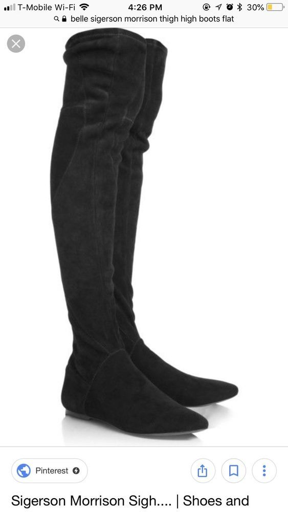 d2a9adc4e10 Belle Sigerson Morrison Thigh High Leather Boots 7 #fashion ...