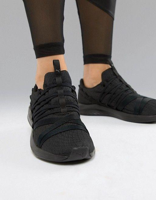 c35d687f349c Puma Training Prowl Alt Sneakers In Black Black Puma Shoes