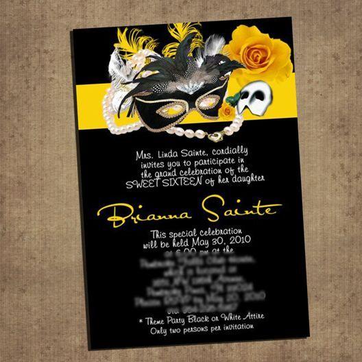 f452bfc0ab1cefc4f9c699249a4f983f masquerade invitations quinceanera invitations 16 best phantom of the opera images on pinterest,Phantom Of The Opera Invitations