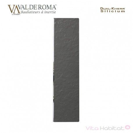 Radiateur rayonnant SLIM Ardoise Noire 500W  - Valderoma 020500L - Vita Habitat