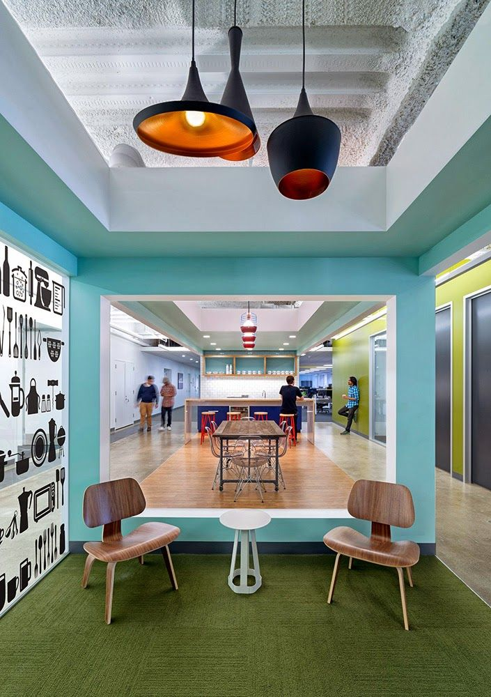 Open Table Headquarters Designed by One Workplace