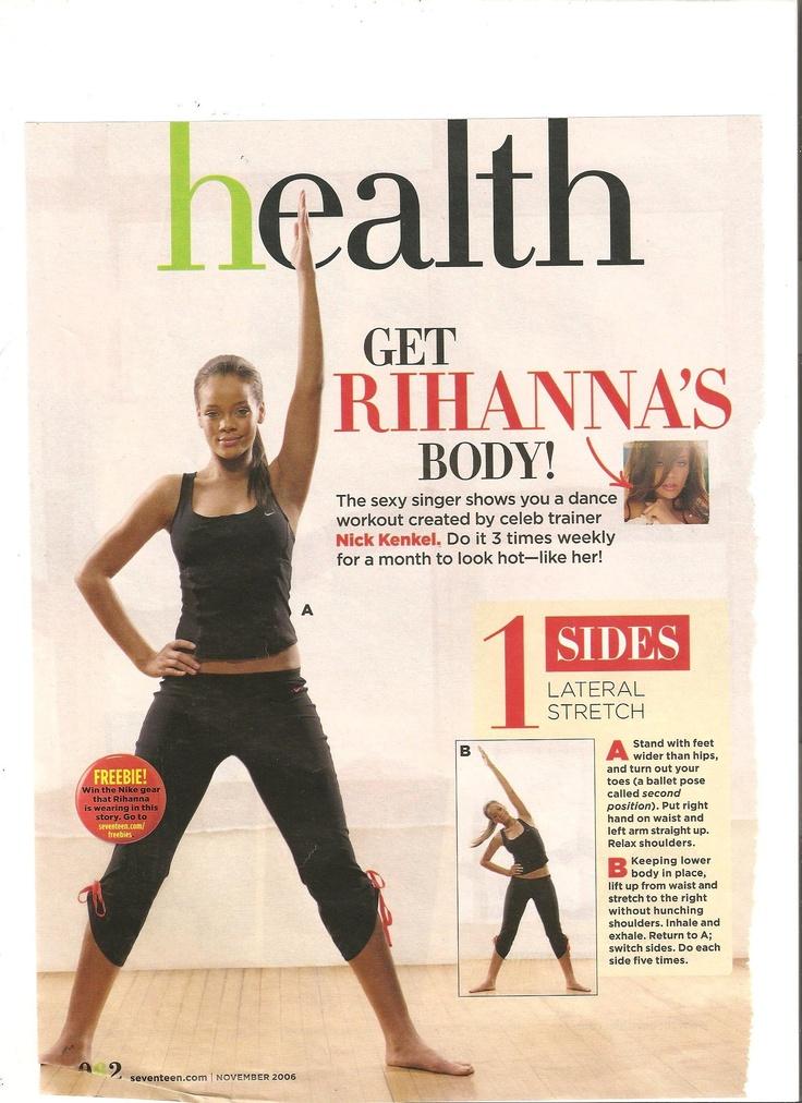 Rihanna Dance Workout Part 1