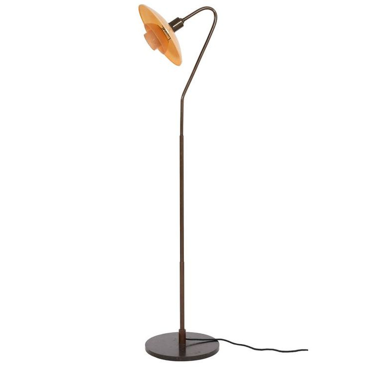 Early Poul Henningsen Standard Lamp, 1931 | From a unique collection of antique and modern floor lamps at https://www.1stdibs.com/furniture/lighting/floor-lamps/