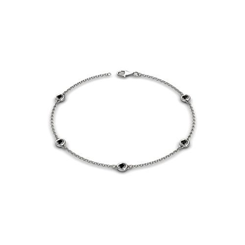 Black Diamond on Cable Bracelet 0.55 ct tw in 14K Gold >>> Details can be found by clicking on the image.