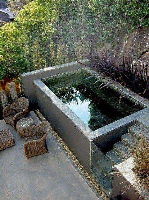 Les 94 meilleures images du tableau Cool pools sur Pinterest - Comment Faire Une Piscine En Beton