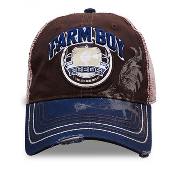 Farm Boy Chicken Feed Baseball Cap   Farm & Western Outfitters