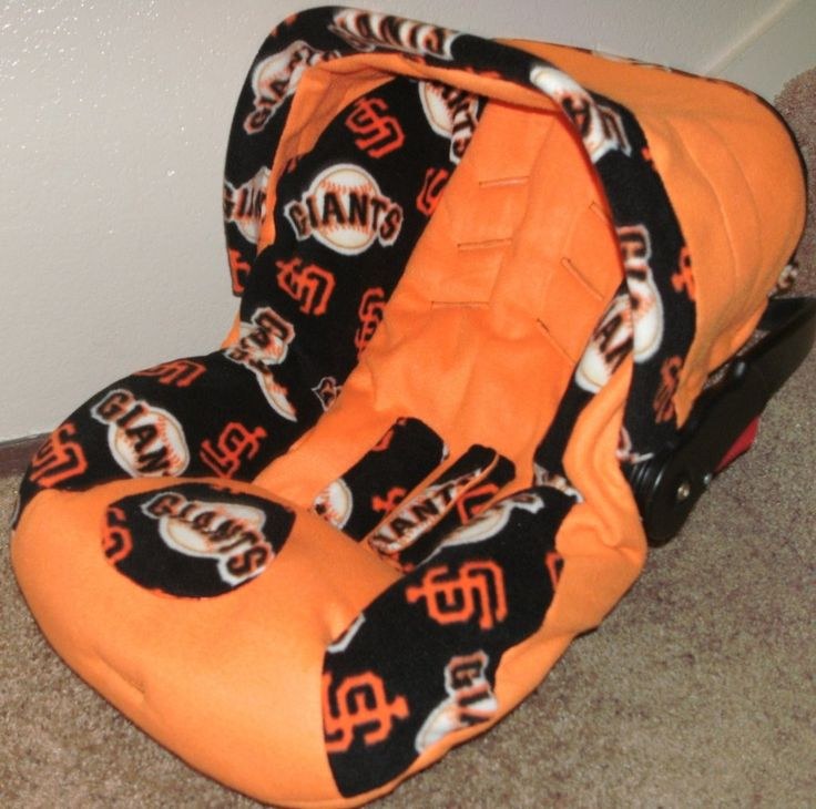 Sf Giants Baby Car Seat Covers