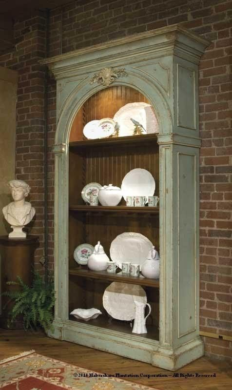 Habersham adriana bookcase ha278149 luxury bookcases for Habersham cabinets cost