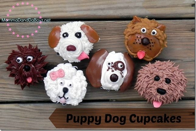 Puppy Dog Cupcakes