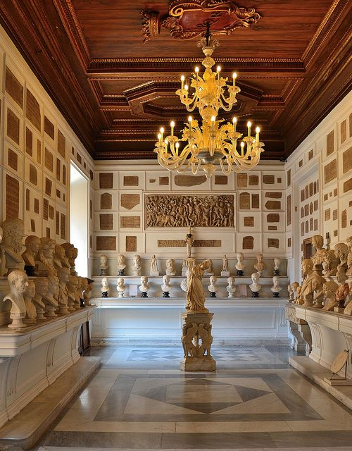 Hall of Emperors, Musei Capitolini, Rome