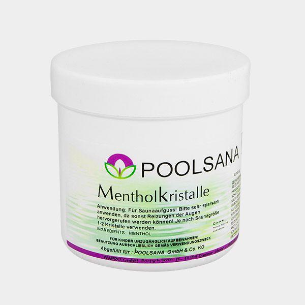 Unsere POOLSANA Sauna-Mentholkristalle verleihen dem klassischen Saunaaufguss zusätzlich Pepp! Die intensiven Kristalle befreien die Atemwege und sorgen für ein angenehmes Prickeln auf der Haut. Und dazu benötigen Sie nicht mal Wasser. #sauna #zubehör #mentholkristalle #wellness #aufguss #saunaaufguss