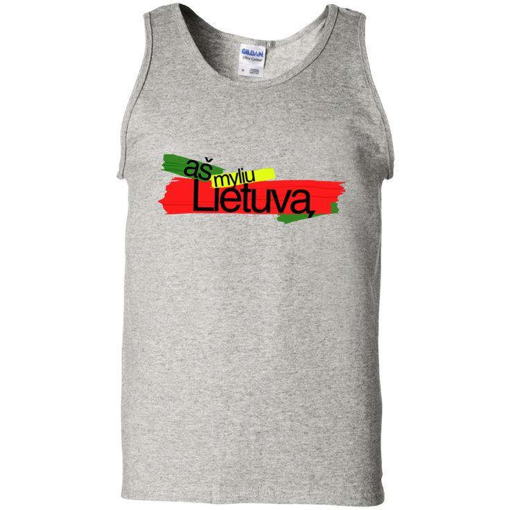 As Myliu Lietuva -- Guys Tank Top