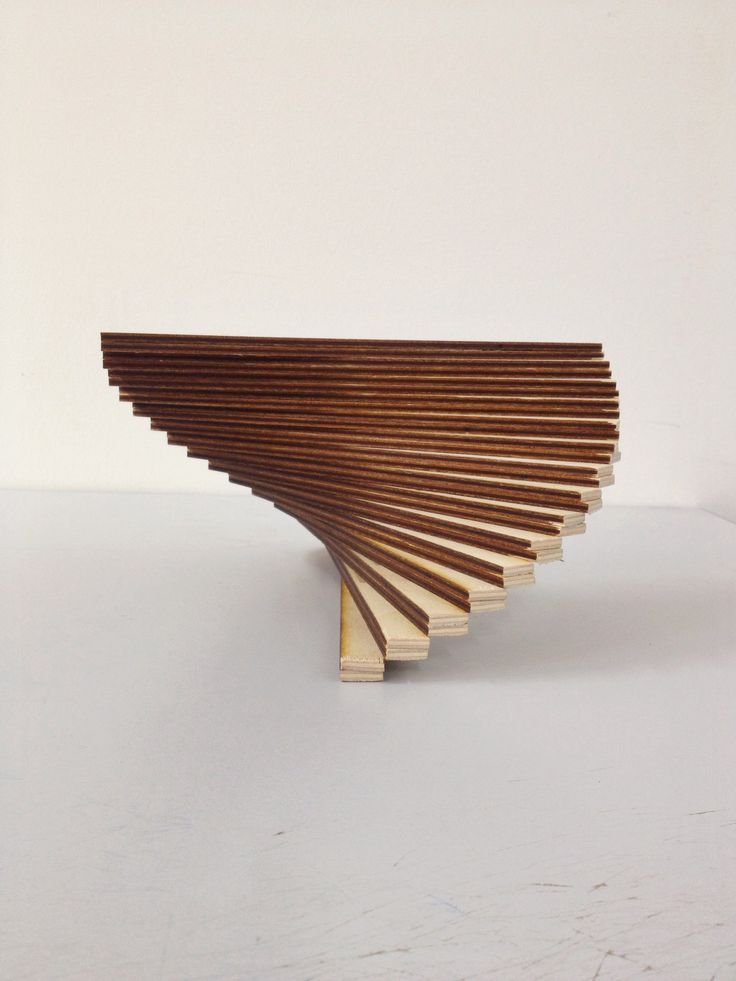 Design Rotation - Constructed from 6mm Plywood, Laser Cut.