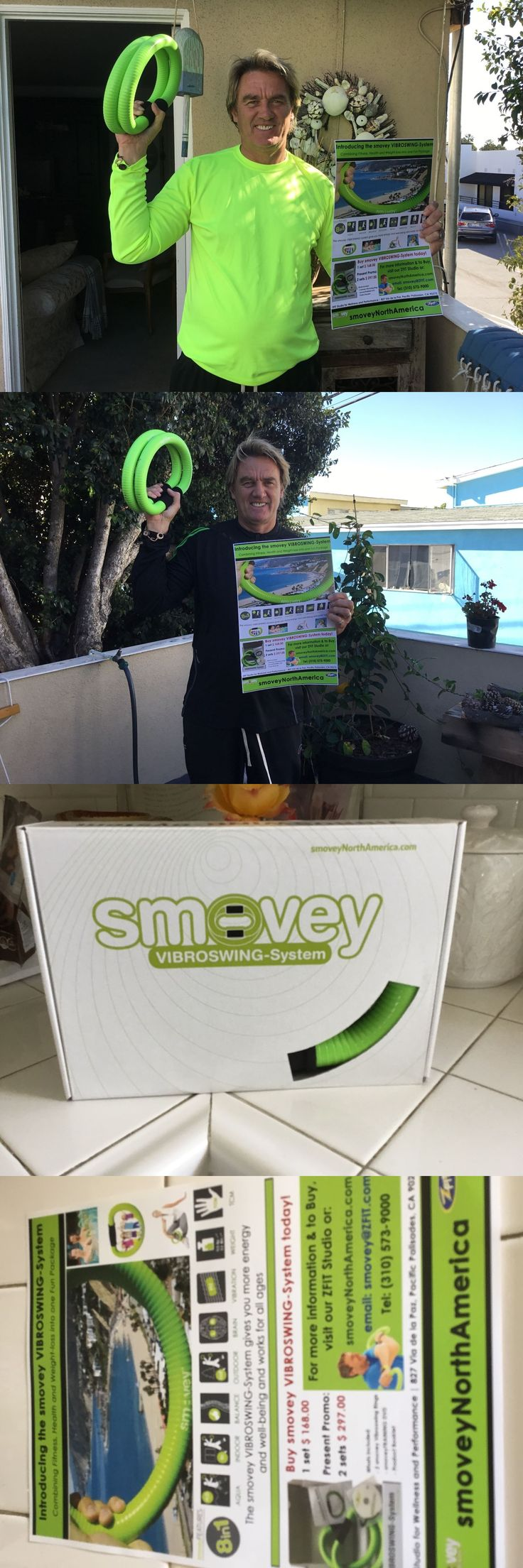 Resistance Trainers 79759: Smovey Vibroswing Exercise Rings For Better Health And Wellness -> BUY IT NOW ONLY: $189 on eBay!